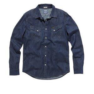 Wrangler Classic Shirt, Dark Rinsed